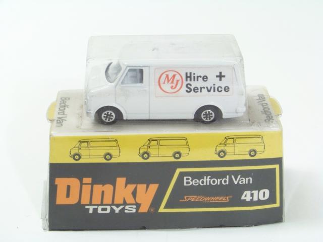 Van Hire Bedford >> Dinky 410 Bedford Van Free Price Guide Review