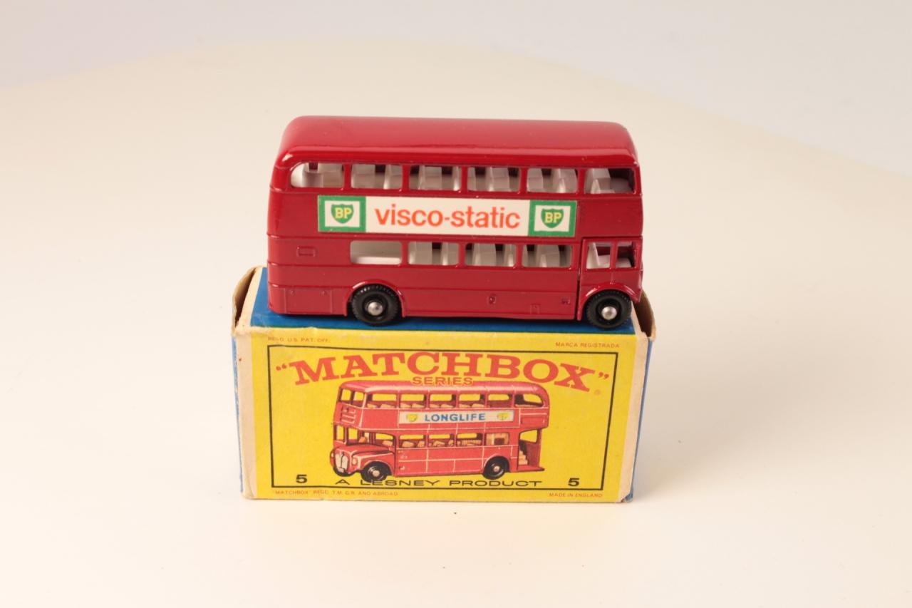 Matchbox #5c - Routemaster Bus - Visco Static (BPW)