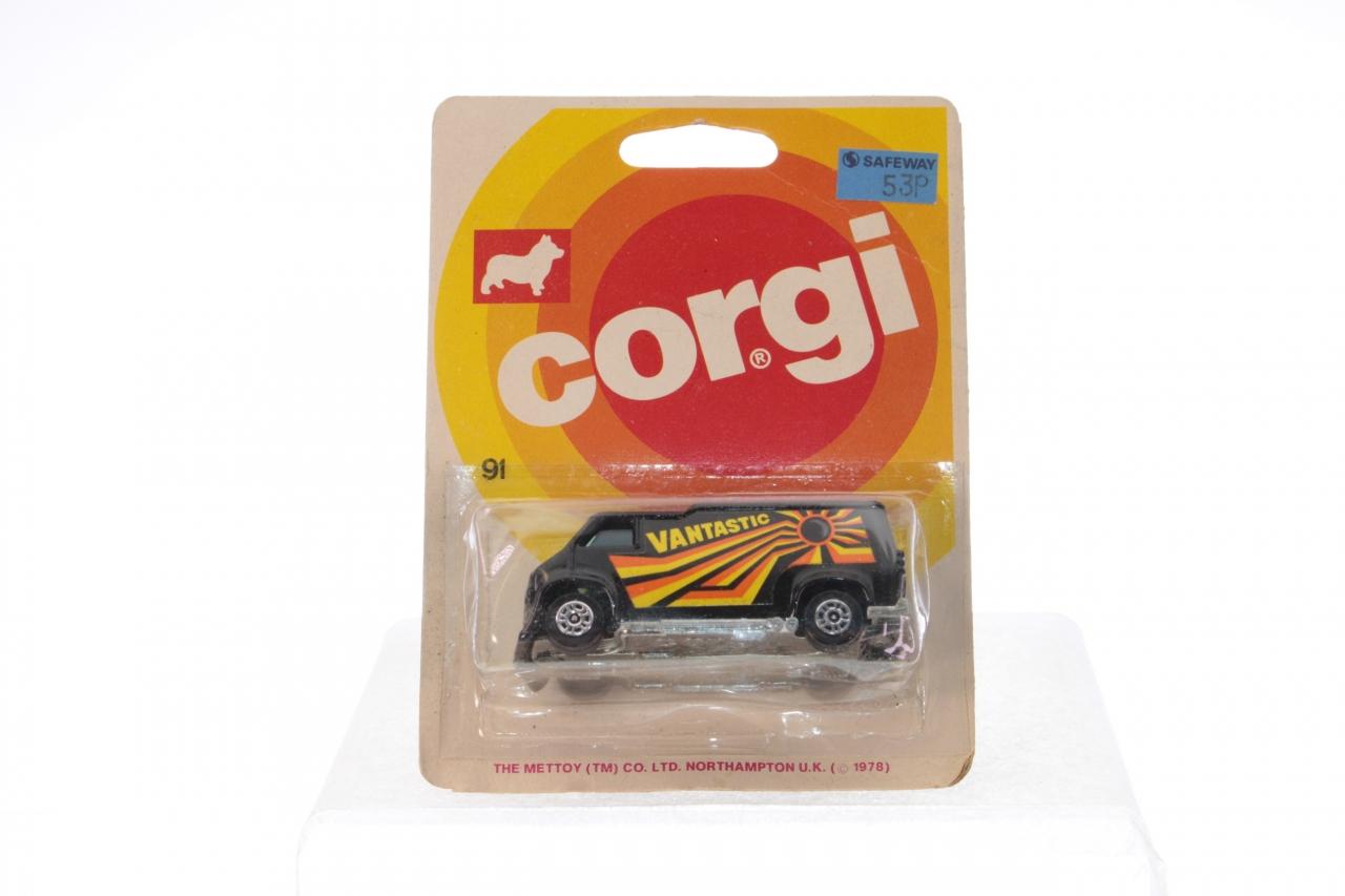 Picture Gallery for Corgi Juniors 91 Vantastic Chevy Van