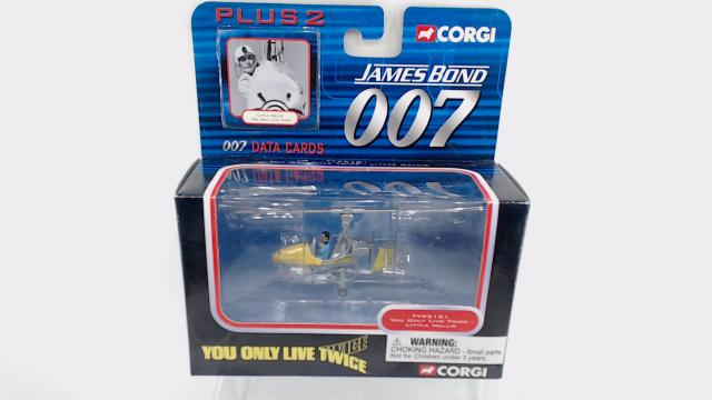 GYROCOPTER LITTLE NELLIE YOU ONLY LIVE TWICE CORGI CC04603 James Bond
