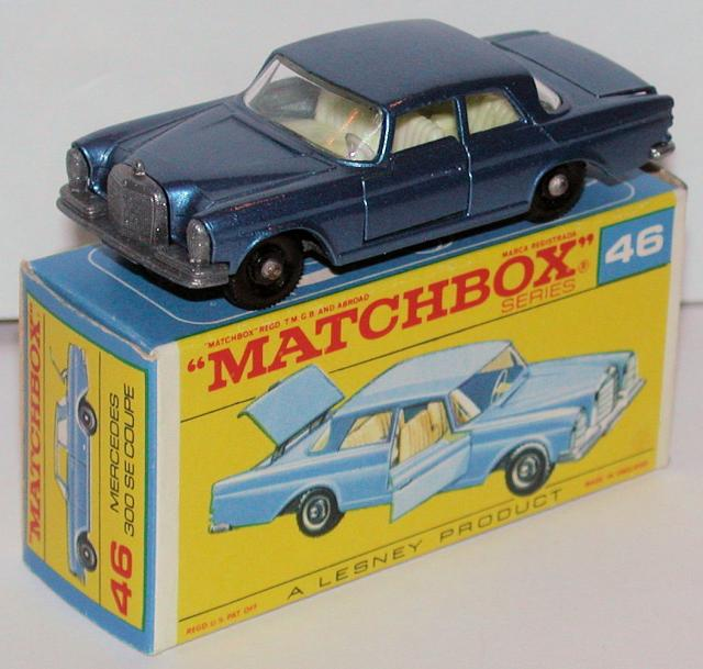 Picture Gallery for Matchbox 46c Mercedes Benz 300 SE