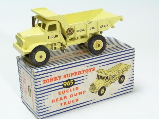 Picture Gallery for Dinky 965 Euclid Rear Dump Truck