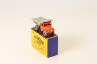 Matchbox #6a - Quarry Truck - Orange/Grey (MW)