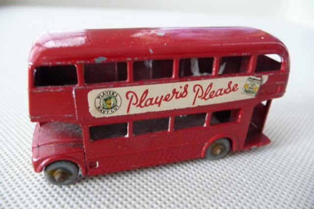 Matchbox Lesney No5 London Bus Empty Repro Box style D