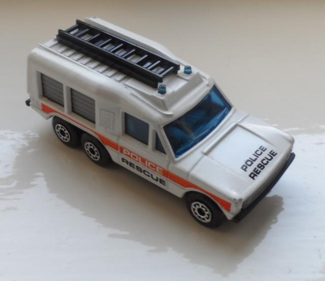 Matchbox 57d Carmicheal Police Vehicle Free Price Guide Review