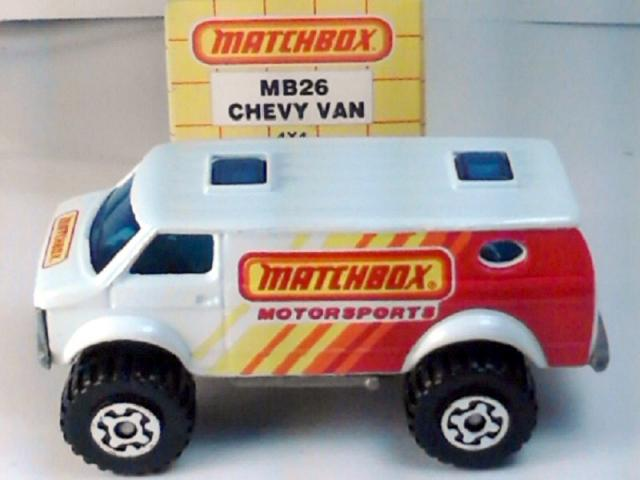 Mint Matchbox chevy Mystery Machine 4x4 van