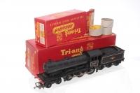 Triang #R150 - 4-6-0 British Rail Loco - Black - RN 61572