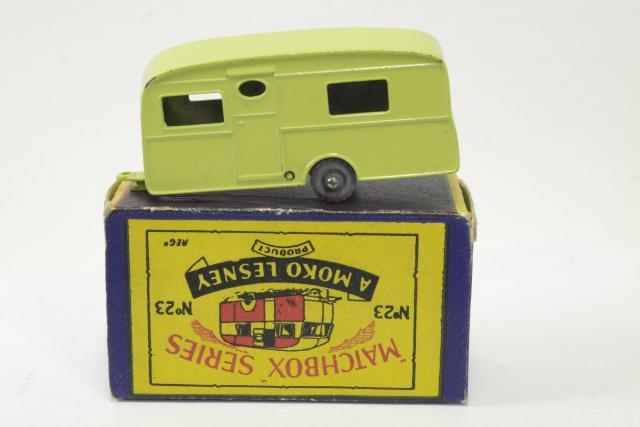 Picture Gallery for Matchbox 23b Berkley Cavalier Caravan