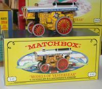 MATCHBOX YESTERYEAR 1905 Fowlers Showman Engine Y19   FREE POSTING