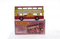 Matchbox #17f - Londoner Bus (Shop Linker) - Red/Yellow