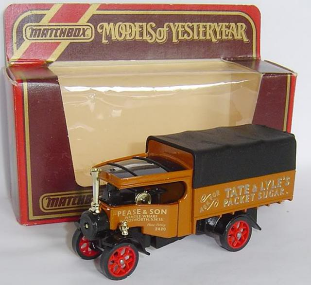 Picture Gallery for Matchbox Yesteryear Y27 1922 Foden Steam Wagon