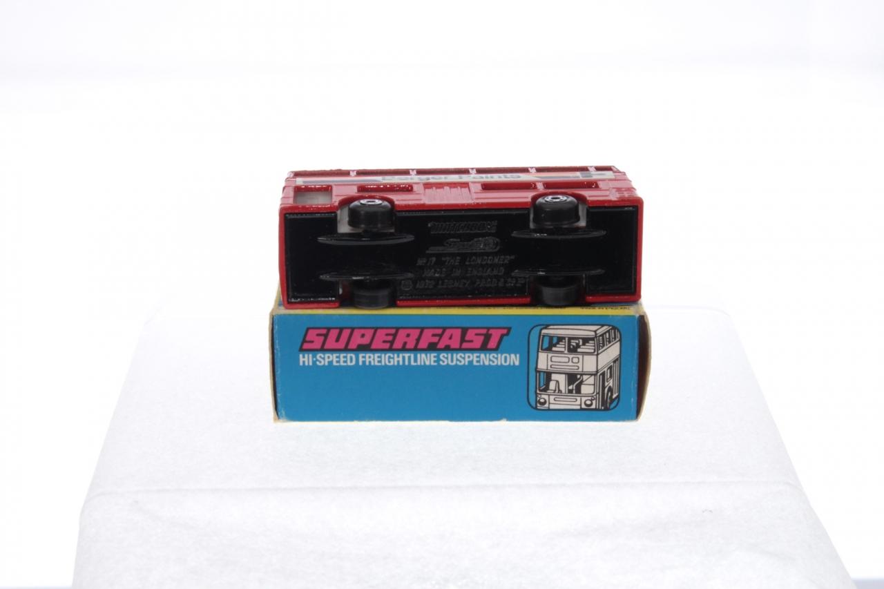 Matchbox #17f - Londoner Bus (Berger) - Red