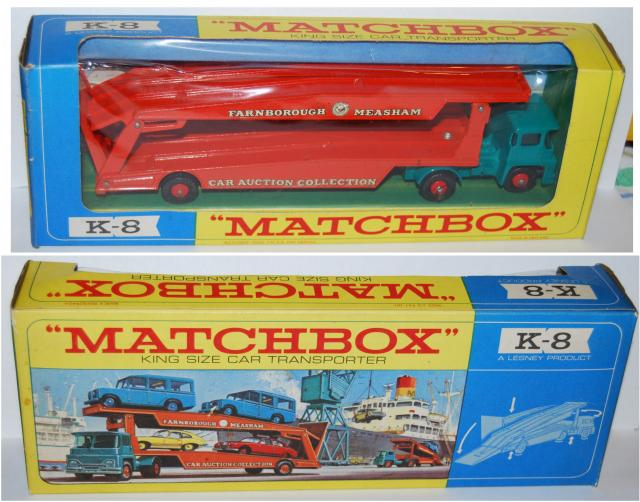 Matchbox K 8 Guy Car Transporter Buy Sell Review Free Price