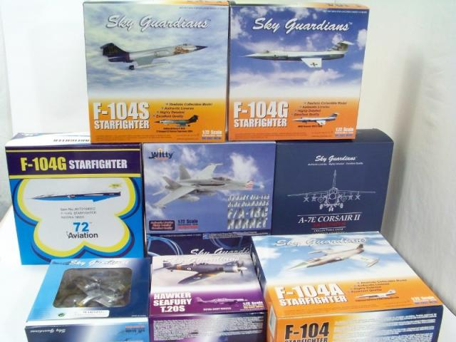 Picture Gallery for Trade-Mixed Lot 8 Witty Wings Diecast Aircraft