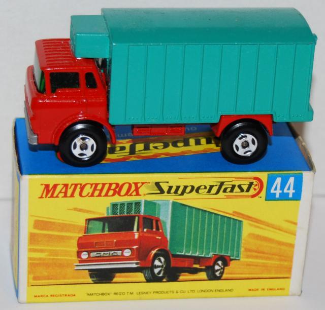 Matchbox Lesney 44C GMC Refrigerator Truck Reproduction Repro Plastic Rear Door