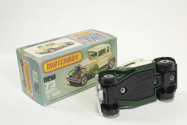 Picture Gallery for Matchbox 73e Ford Model A