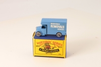 Matchbox #17a - Bedford Removals Van - Lt Blue