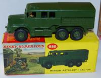 689 NEW Tin Canopy for Dinky Medium Artillery Tractor