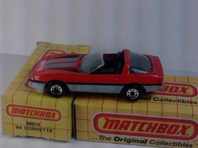 Picture Gallery for Matchbox 14K 84 Corvette