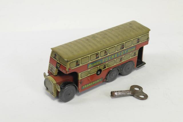 Picture Gallery for Brimtoy 515 6 Wheel Tinplate Bus