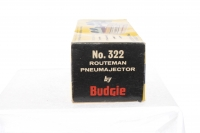 Budgie #322 - Routeman Pneumajector - Blue/Cream
