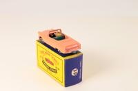 Matchbox #39a - Zodiac Convertible - Peach/Green (GPW)