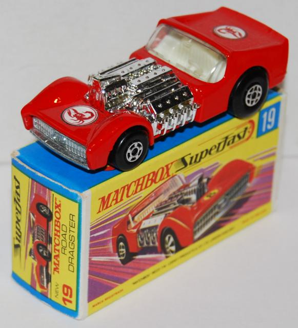 Picture Gallery for Matchbox 19e Road Dragster