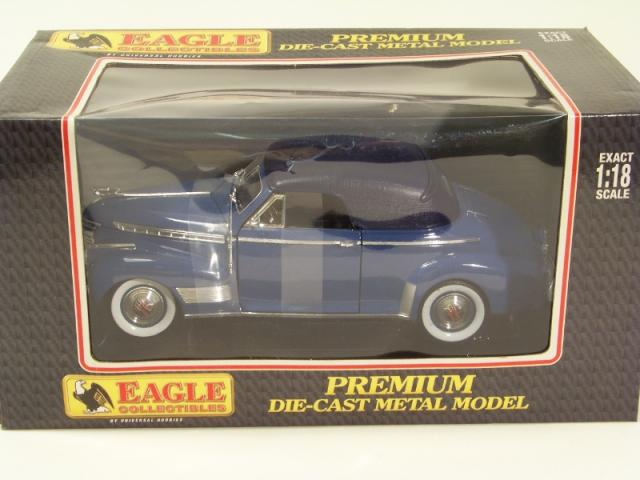 Picture Gallery for Eagle Collectibles 43540 1941 Chevrolet Soft Top