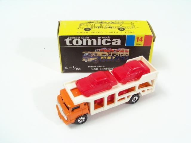 Picture Gallery for Tomica 14 Toyota Car Transporter