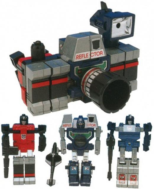 Picture Gallery for Transformers 21 Reflector