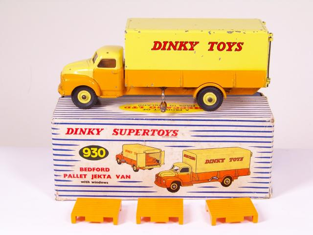 Dinky 930 Pallet Jekta VanDINKY TOYS MECCANOWaterslide Transfer//Decal