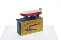 Matchbox #48b - Sports Boat - Red Cream Or White (BPW)