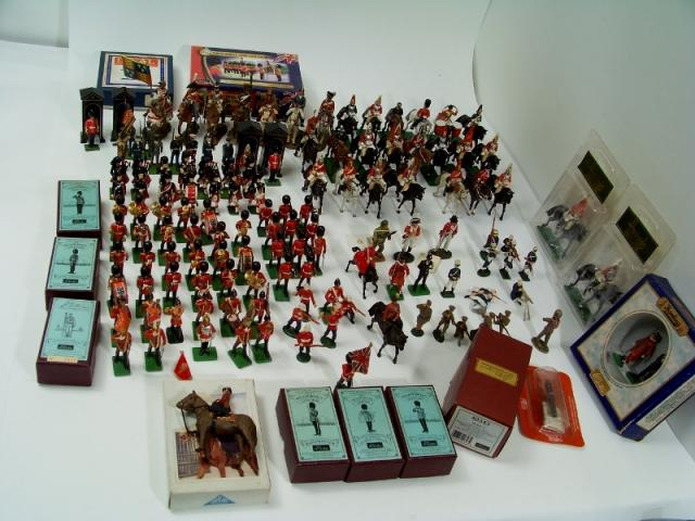 Picture Gallery for Bulk-Mixed Lot 0 1:32 Scale Model Soldiers