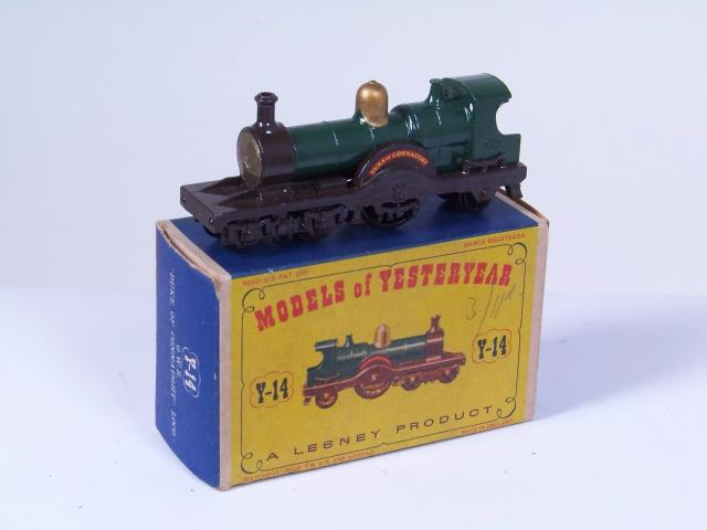 Picture Gallery for Matchbox Yesteryear Y14 Duke of Connaught Loco