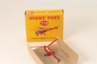 Dinky #716 - Westland Sikorsky S.51 Helicopter - Red