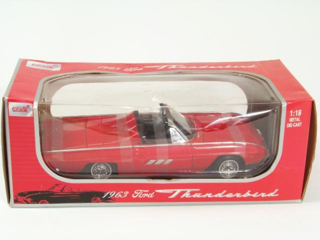 Picture Gallery for Anson 30334 1963 Thunderbird Convertible