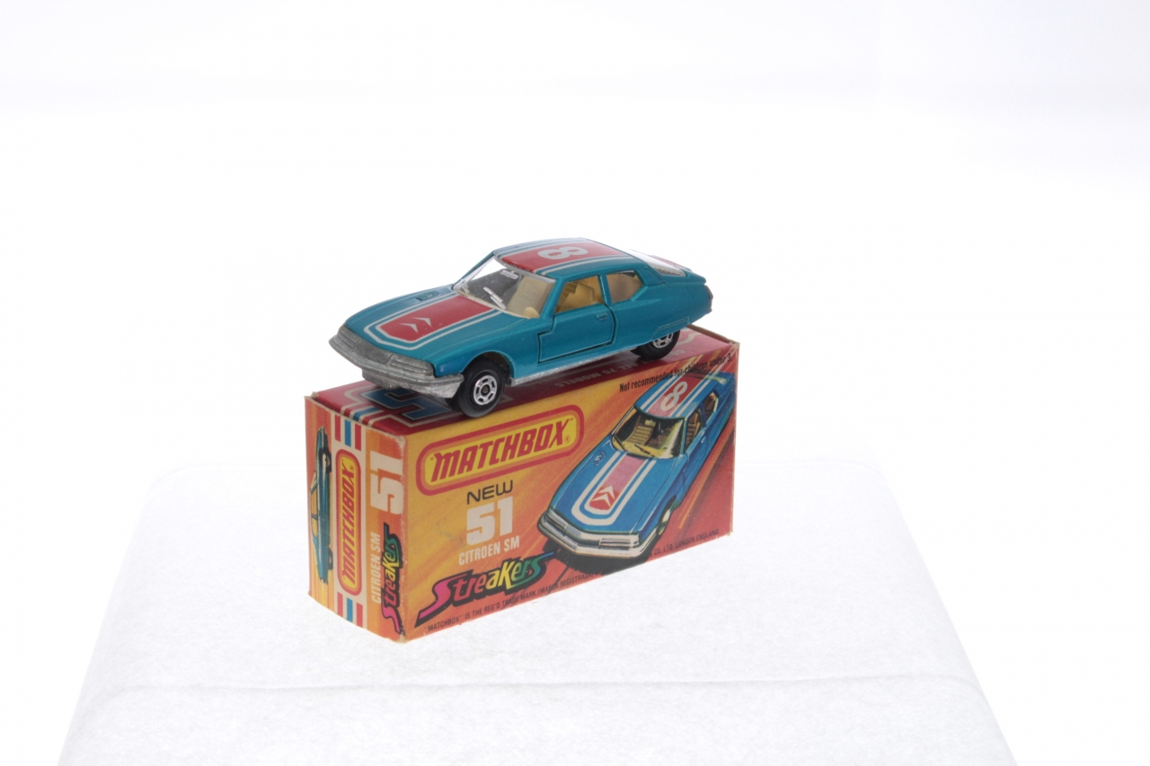 Picture Gallery for Matchbox 51d Citroen SM
