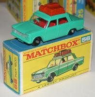Picture Gallery for Matchbox 56b Fiat 1500