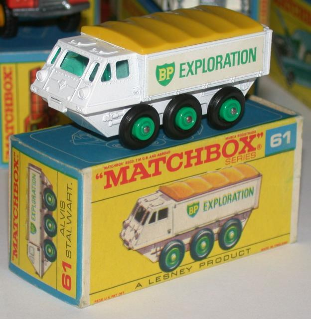 Picture Gallery for Matchbox 61b Alvis Stalwart BP