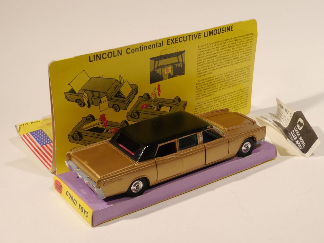Picture Gallery for Corgi 262 Lincoln Continental
