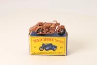 Matchbox #66b - Harley Davidson - Metallic Bronze
