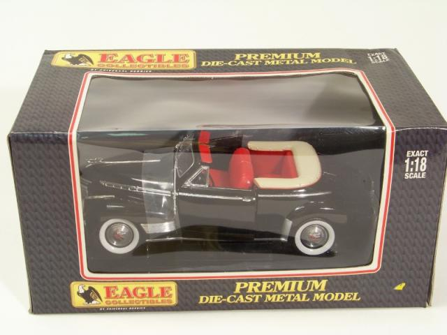 Picture Gallery for Eagle Collectibles 43520 1941 Chevvy Convertible