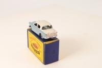 Matchbox #43a - Hillman Minx - Blue/Light Grey (MW)