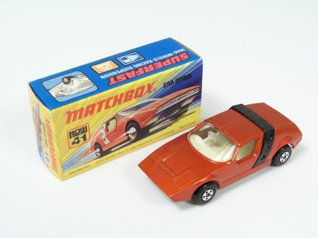 Picture Gallery for Matchbox 41d Siva Spyder