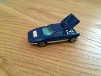 Corgi Rockets #909 - Mercedes C111 - Blue/White