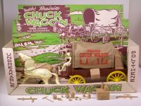 Picture Gallery for Marx 1372P Prairie Chuck Wagon