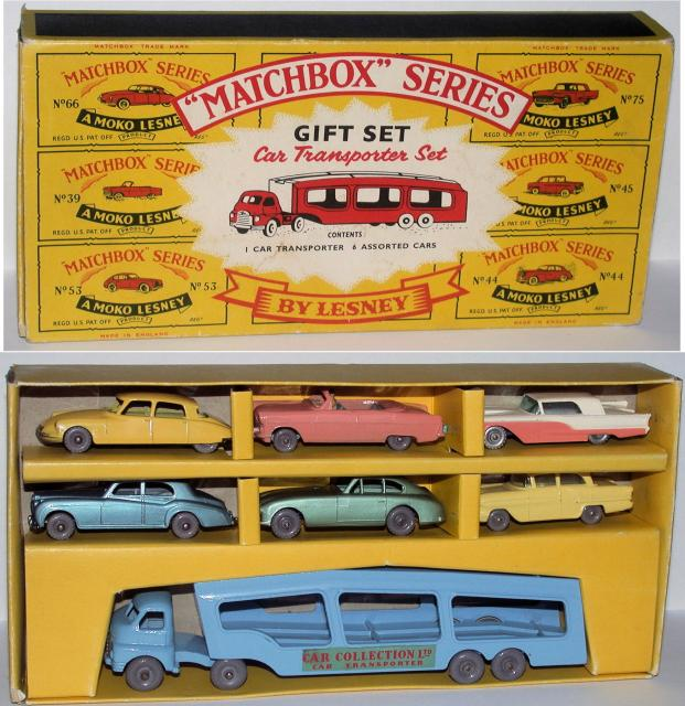 Picture Gallery for Matchbox G2 Car Transporter Set
