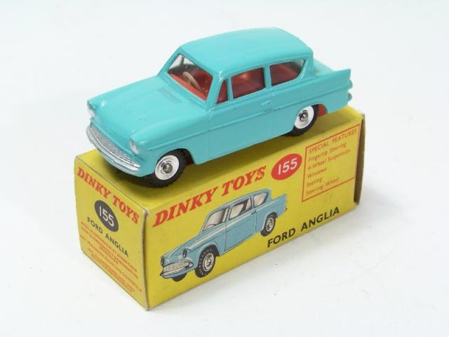 Picture Gallery for Dinky 155 Ford Anglia & Dinky 155 Ford Anglia - Free Price Guide #1677 markmcfarlin.com