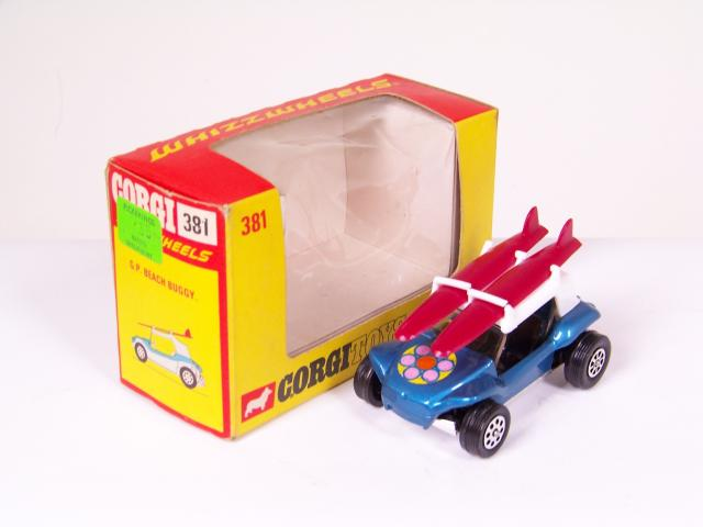 Picture Gallery for Corgi 381 Beach Buggy