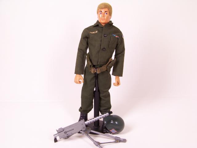 Picture Gallery for GI Joe GIJ9993 US Machine Gunner